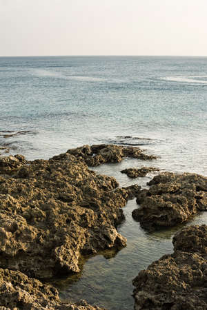 kenting: Rocky coastline at Kenting National Park, Taiwan, Asia.