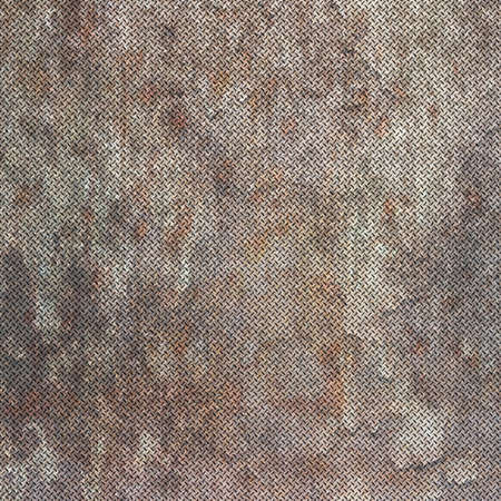 Background of metal diamond plate in grungy color. Stock Photo - 24662500