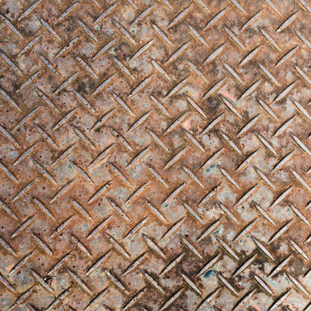 diamondplate: Background of metal diamond plate. Stock Photo
