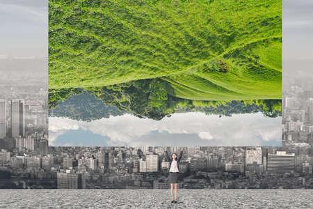 klima: Ändere die Welt, Konzept der Natur, Umwelt, herausfordern usw. Lizenzfreie Bilder
