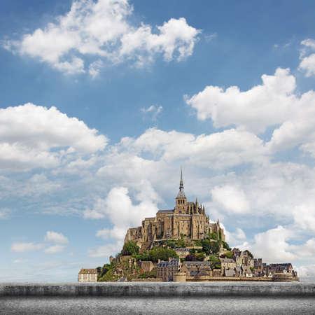 world heritage site: Landscape of Mont Saint-Michel