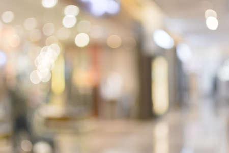 쇼핑몰, 초점의 얕은 깊이의 추상적 인 배경.