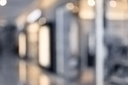 Abstract background of shopping mall, shallow depth of focus. 写真素材