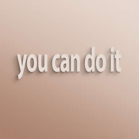 achievable: text on the wall or paper, you can do it