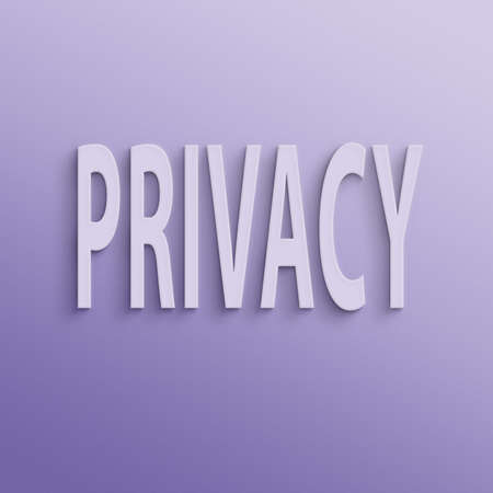 privy: text on the wall or paper, privacy