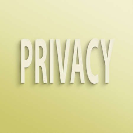 undercover: text on the wall or paper, privacy