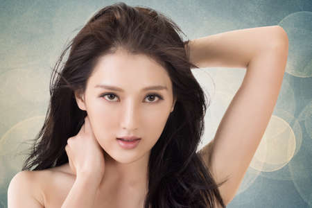 Asian beauty woman Stock Photo