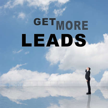 heave: Get More Leads, text on the sky.