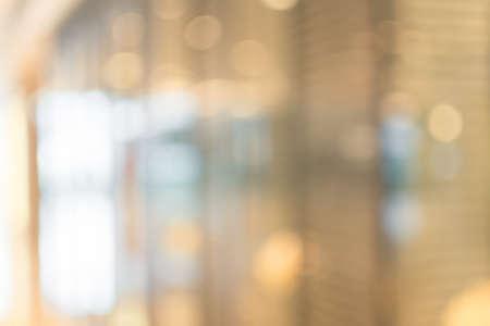 tiefe: Zusammenfassung Hintergrund der Shopping-Mall, seichte Tiefe des Fokus. Lizenzfreie Bilder