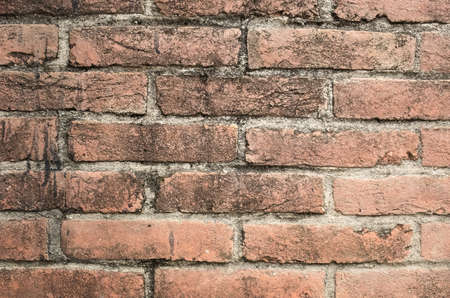 bricks background: red bricks wall background with good texture detail