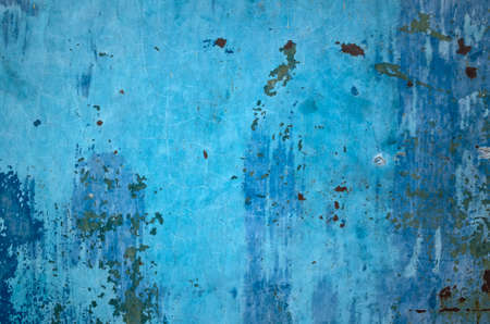 background of rusty metal dirty wall in grunge style Banco de Imagens