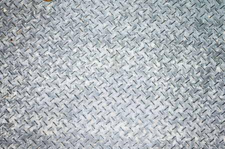 background of metal diamond plate in gray color