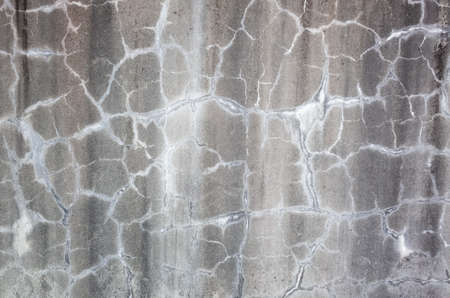 weathered gray wall with cracks in grungy style