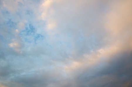 sunset clouds on heaven, nature cloudy background 스톡 콘텐츠