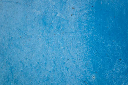 background of rusty metal dirty wall in blue color