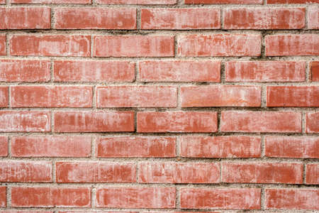 red brick wall background with good texture