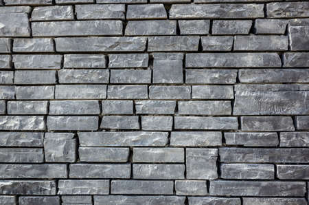gray brick wall with rough texture background