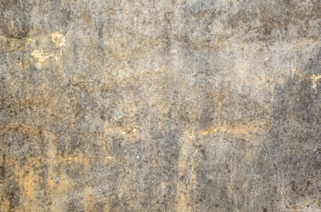 mildewed wall background, grunge texture of dirty cement wall Banco de Imagens