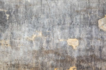 mildewed wall background, grunge texture of dirty cement wall Imagens