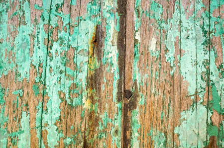 vintage texture background of old weathered wood planks painted with color