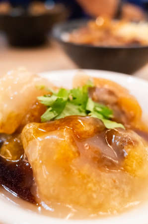 meatballs, Taiwanese famous and traditional taste snacks