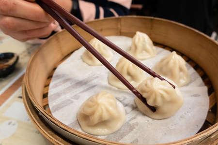 Xiao Long Bao, soup dumplings, Taiwanese famous local snacks