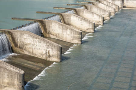 small dam in the daytime at Taiwan