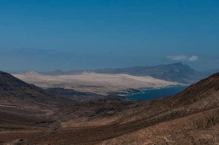 fuerteventura: Fuerteventura landscape, Spain Stock Photo