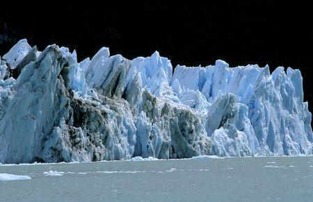 glaciares: Spegazzini Glacier, Patagonia, Argentina Stock Photo