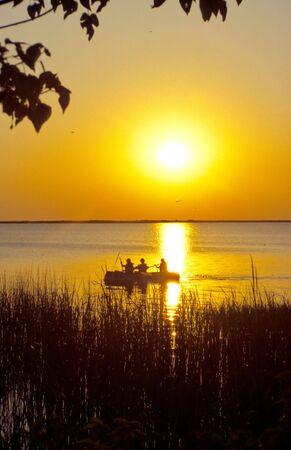 Sunset in the Esteros del Ibera