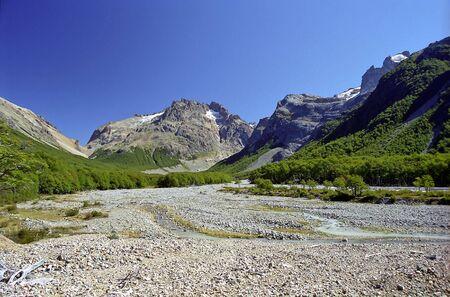 Landscape in chilean Patagonia Stock fotó