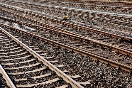 Railroad tracks Stock Photo - 7164331