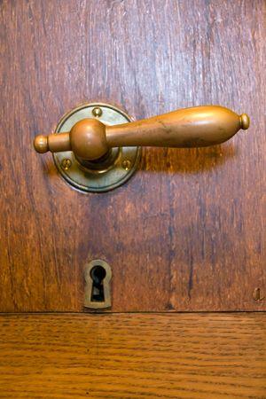 Old doorknob photo