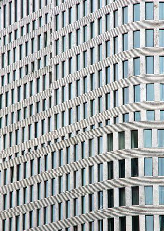 Facade of a modern building Banco de Imagens