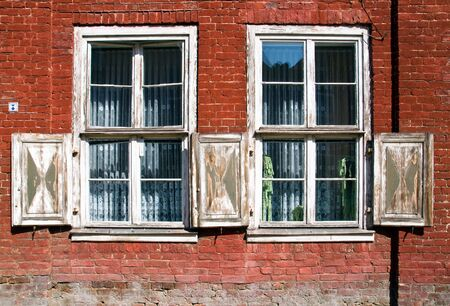 Old outworn windows Stock Photo - 7555080