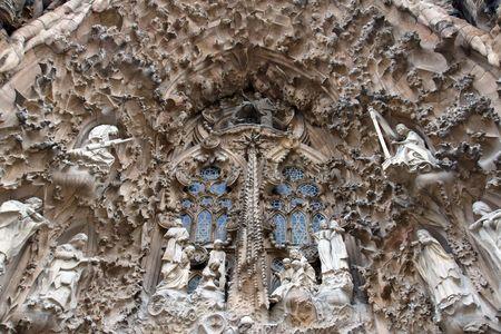 sagrada: Detail of Sagrada Familia Editorial