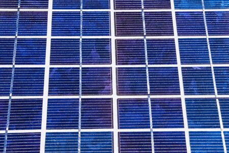 Detail of solarcells Stock Photo - 8030925