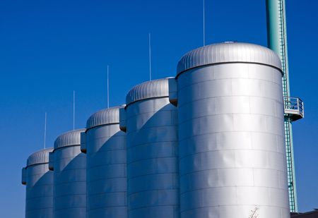 Industrial tanks photo