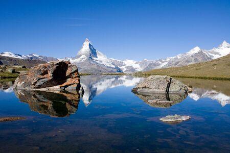 Matterhorn mit Stelisee