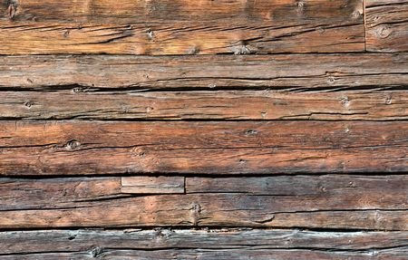 Rustic wooden board photo
