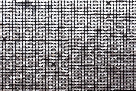 Glitzernde Wand