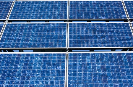 Solar panel close-up Stock Photo - 8779390