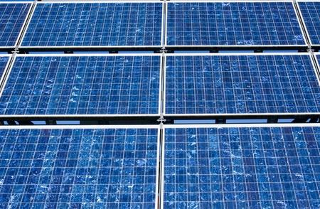 monocrystalline: Solar panel close-up