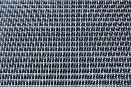Iron grid background photo