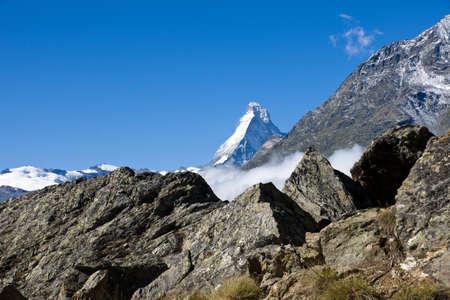 The Matterhorn appears Stock Photo - 9261392