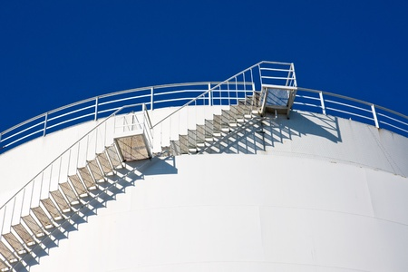 Stairs leading to the sky photo