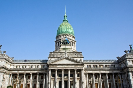 The Palace of Congress in Buenos Aires, Argentina