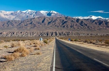 Landscape in northern Argentina