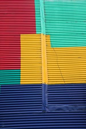 la boca: Wall in La Boca, Buenos Aires