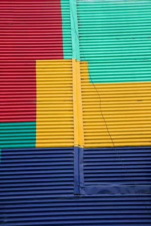 Wand in La Boca, Buenos Aires